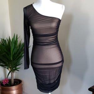 NWT Bodycon black dress